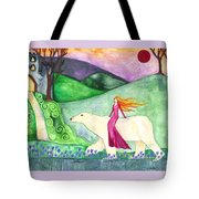 East Of The Sun And West Of The Moon Tote Bag