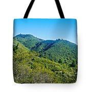 East Peak Of Mount Tamalpias-california Tote Bag