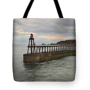 East Pier Whitby Tote Bag