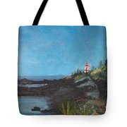 East Quoddy Head Lighthouse Tote Bag
