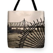 East River View Tote Bag