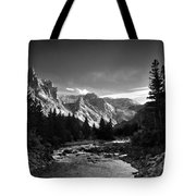East Rosebud Canyon 7 Tote Bag by Roger Snyder