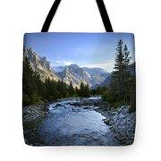East Rosebud Canyon 8 Tote Bag by Roger Snyder