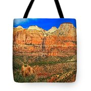 East Temple Tote Bag