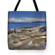East To Mistaken Island Tote Bag