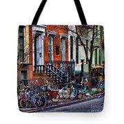 East Village Bicycles Tote Bag