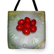 Easter And Red Eggs Tote Bag
