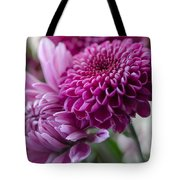 Easter Bouquet Flowers Mums And Dahlia Tote Bag