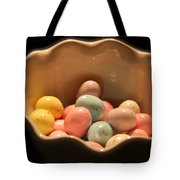 Easter Candy Malted Milk Balls I Tote Bag