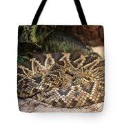 Easter Diamond Back Rattlesnake Tote Bag