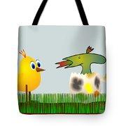 Easter Egg - Disagreeable Surprise Tote Bag