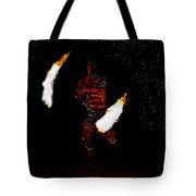 Easter Island Fire Dance Tote Bag