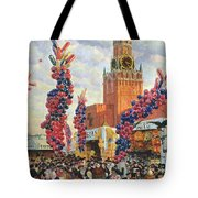 Easter Market At The Moscow Kremlin Tote Bag