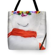 Easter Snowman Tote Bag