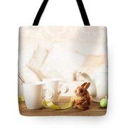 Easter Tea Break Tote Bag