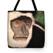 Eastern Colobus Monkey Tote Bag