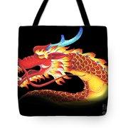 Eastern Dragon Tote Bag