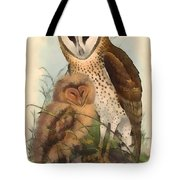 Eastern Grass Owl Tote Bag