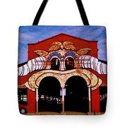 Eastern Market Painted Barn Tote Bag