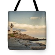 Eastern Point Lighthouse Tote Bag