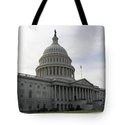 Eastern Site Of The Capitol Washington Dc Tote Bag