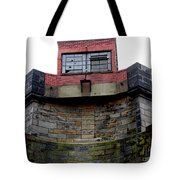 With One Eye Open Tote Bag