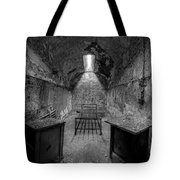 Eastern State Penitentiary Bw Tote Bag