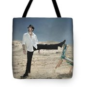 Easy Breezy Cool Tote Bag by Laurie Search
