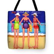 Eat At Joes - Beach Gossip Tote Bag