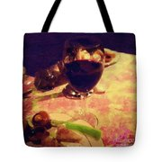 Eat Drink And Be Merry Tote Bag