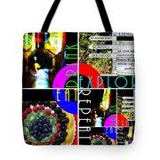 Eat Drink Explore Repeat 20140713 Horizontal Tote Bag
