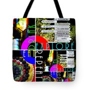 Eat Drink Explore Repeat 20140713 Vertical Tote Bag