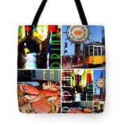 Eat Drink Play Repeat San Francisco 20140713 Vertical V1 Tote Bag