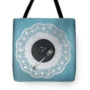Eating Pills Tote Bag