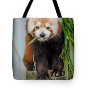 Eating With Mouth Full Tote Bag