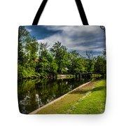 Eaton Rapids Island Park Tote Bag