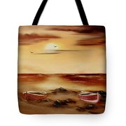 Ebb Tide And Stranded Tote Bag by Cynthia Adams