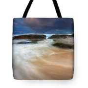 Ebb Tide Sunrise Tote Bag