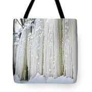 Eben Ice Caves Tote Bag