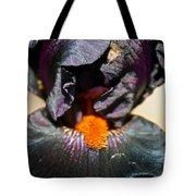 Ebony Iris Tote Bag