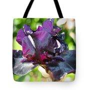 Ebony Violet Tote Bag