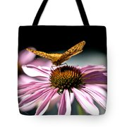 Echinacea And Friend Tote Bag