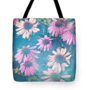 Echinacea Flowers Tote Bag