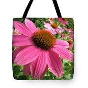 Echinacea Garden Tote Bag