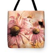 Echinacea Impressions  Tote Bag