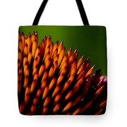 Echinacea Up Close Tote Bag