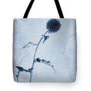 Echinops Ritro 'veitch's Blue' Cyanotype Tote Bag