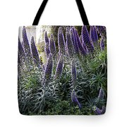 Echium And Tower Tote Bag