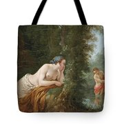 Echo And Narcissus Tote Bag