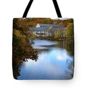 Echo Bridge Tote Bag by Corinne Rhode